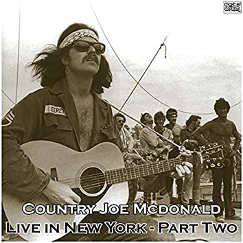 Live in New York - Part Two (Live)