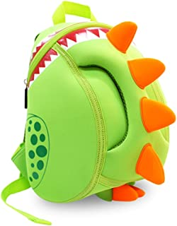 YISIBO Dinosaur Backpack Kids Toddler Child Cute Zoo Waterproof 3D Cartoon Sidesick Bag for Pre School Pre Kindergarten Toddler 2-7 Years