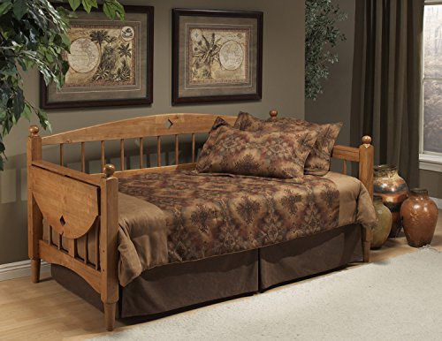 Hillsdale Dalton Daybed in Medium Oak Finish With Suspension Deck