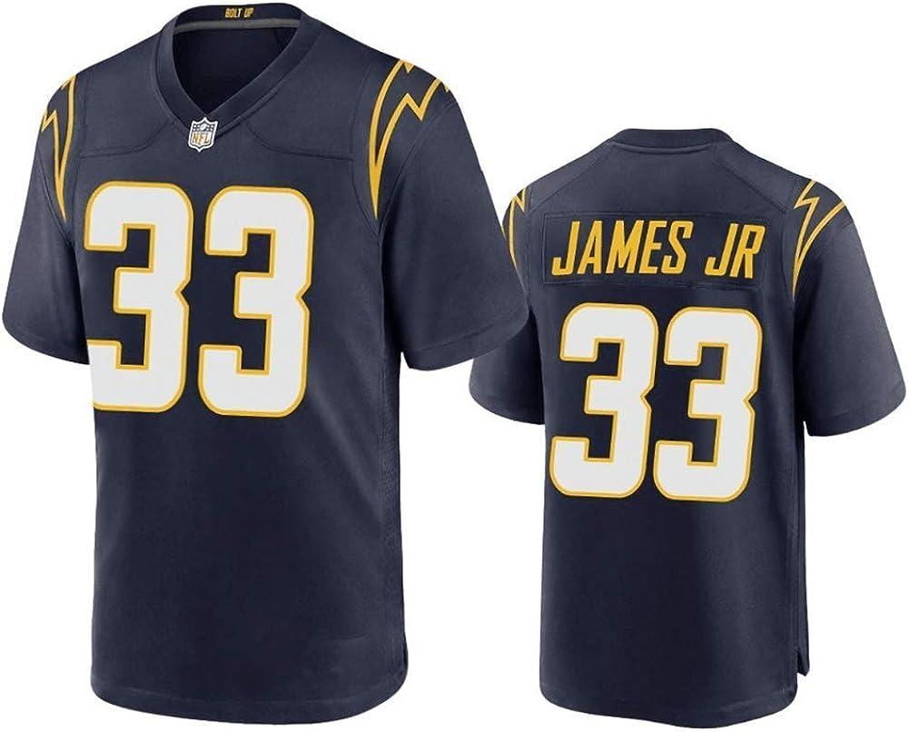 Maillot de football am/éricain Los Angeles pour homme maillot de football pour homme maillot de football am/éricain chargeurs James JR # 33