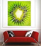 Art Deco Sticker Poster Kiwi – 60 x 40 cm