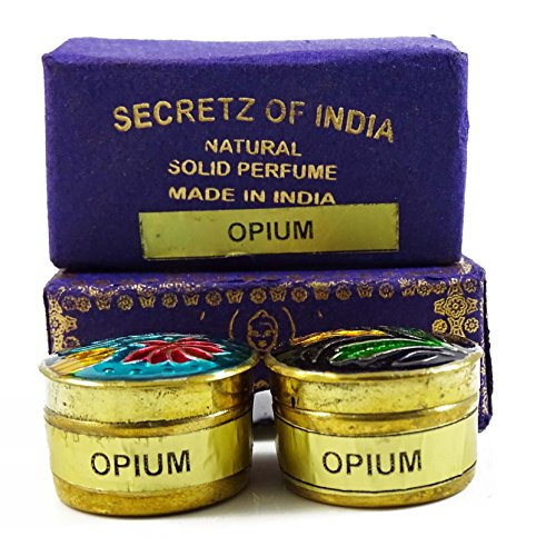 Simply Natural Natürliche opium duft fester duftstoff körper musk natur in mini messing jar 4g