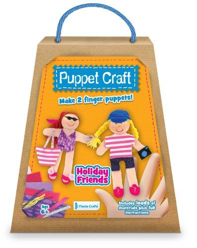 Kit de marionnettes à doigt à fabriquer : vacances