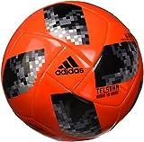 adidas World Cup Glide Balón, Hombre, Rojo (Rojsol / Negro / Plamet), 5