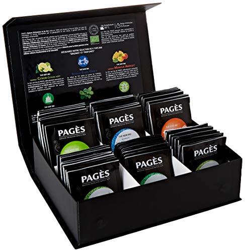 Le coffret de thé Bio Pagès