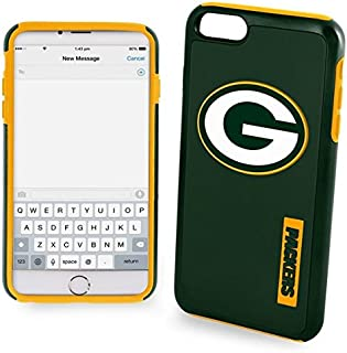 Forever Collectibles - Licensed NFL Cell Phone Case for Apple iPhone 6 Plus / 6s Plus - Retail Packaging - Green Bay Packers
