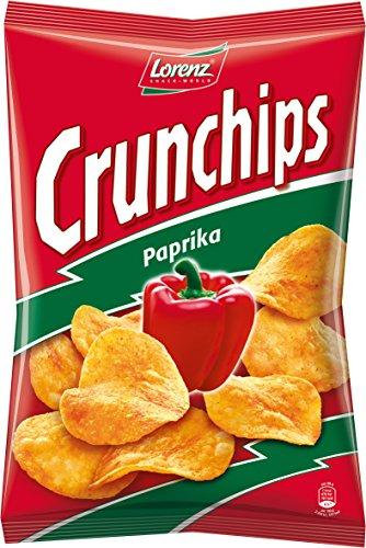 Lorenz Snack World Crunchips Paprika 8er Pack (8 x 200 g)