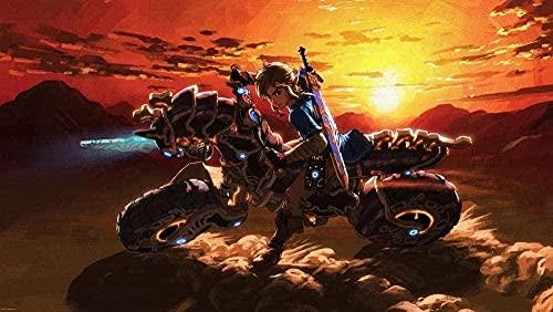 1000piezas de Rompecabezas para Adultos The Legend of Zelda Game Poster IV Juego de Rompecabezas de...