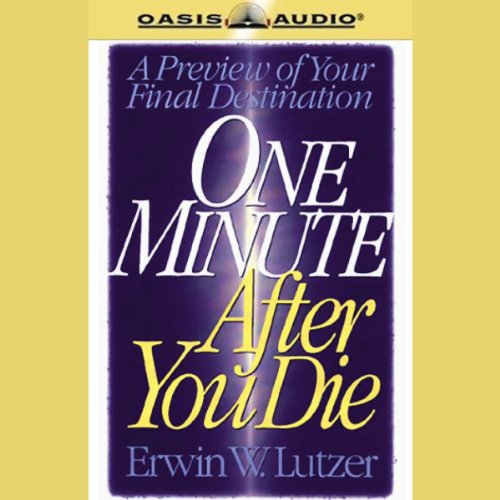 One Minute After You Die audiobook cover art