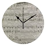 MIKA青 ラプソディ 壁かけ時計 掛時計 掛け時計 インテリアクロック デザイン時計 ウォールクロック インテリア雑貨壁掛け時計