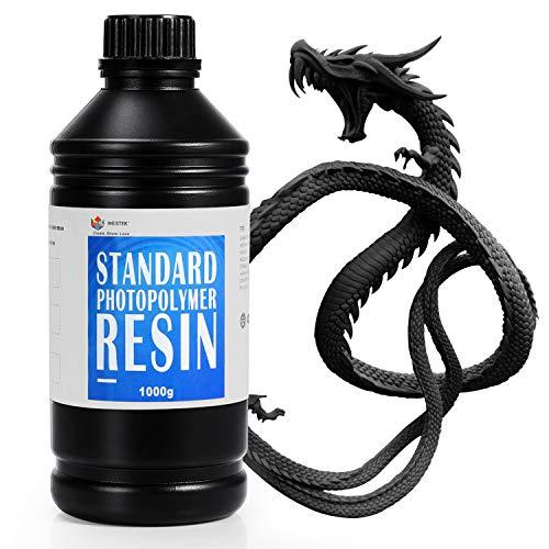 WEISTEK Resina para impresora 3D Resina rápida estándar de 405 nm para impresión LCD 3D con...