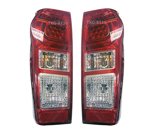 K1AutoParts Rear Taillights Tail Light Lamps (For L.E.D Brake Light) For Isuzu D-max Dmax 2016 2017 2018