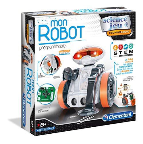 Clementoni–Mein Roboter mit Sensoren μµµ–Spiel Wissenschaftliche, 52276
