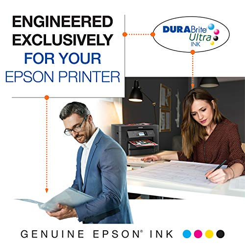 Epson T125120-BCS DURABrite Ultra Black and Color Combo Pack Standard Capacity Cartridge Ink Photo #4