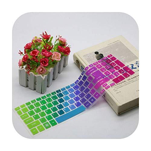 TOIT - Protector de pantalla de teclado para Acer Aspire 5755 E1 510 V3 571G V3 551 V3 551 V3 551G V3 571 Es1 531-Rainbow-