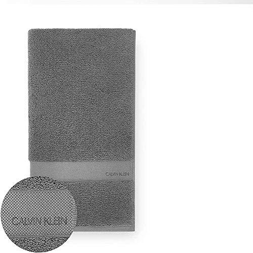 Calvin Klein Tracy Paño de Lavado, Cotton, Carbón, 33x33 cm