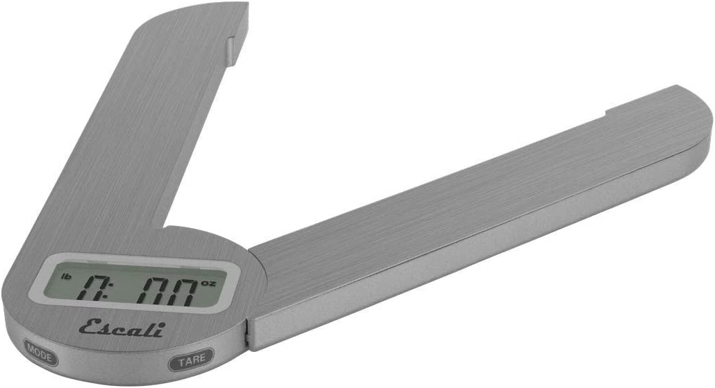 Escali F115 Compact Kitchen Scale Challenge the lowest price of Japan 11 specialty shop Steel kg lb 5 Stainless