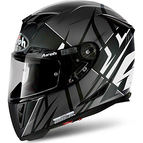 GP5SE38L - Airoh GP500 Sectors Motorcycle Helmet L Matt White