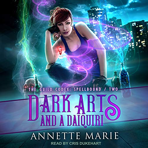 Dark Arts and a Daiquiri     The Guild Codex: Spellbound Series, Book 2              By:                                                                                                                                 Annette Marie                               Narrated by:                                                                                                                                 Cris Dukehart                      Length: 7 hrs and 39 mins     1,466 ratings     Overall 4.6