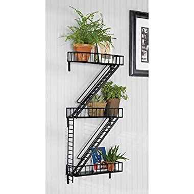 Design Ideas FireEscape Shelf