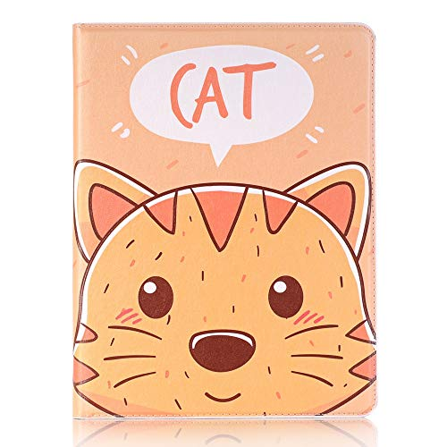 Tanxinxing For Samsung Galaxy Tab S2 9.7 2015 SM-T810 Cute Cartoon Animals Design PU Leather Flip Wallet Stand Tablet Case Cover (PATTERN : 7)