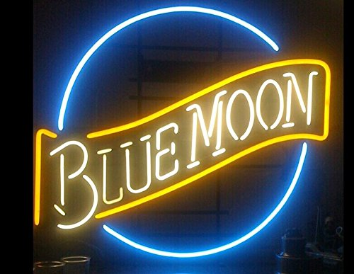 neon beer signs blue moon - 7