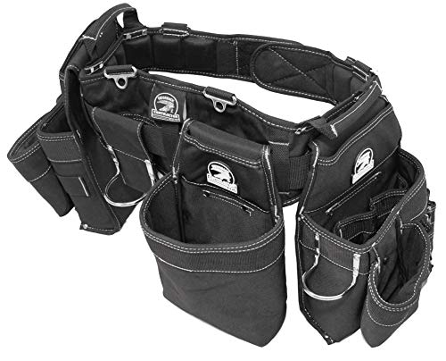"Gatorback B145 Carpenters Triple Combo w/Pro-Comfort Back Support Belt. For Best Fit Measure ACTUAL WAIST SIZE OVER CLOTHES. (Large 36""-40"")"
