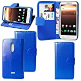 For Alcatel A3 XL 9008X Case - Leather Wallet Book Flip