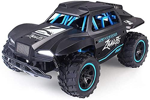 1/18 de alta velocidad todoterreno Monster Truck 4WD Control remoto coche 2.4 GHz vehículo de carreras eléctrico Radio controlado Desert Crawler Buggy
