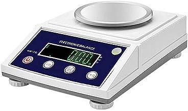 GPWDSN Balances de Cuisine, balances électroniques numériques de 0,01 g, Bijoux industriels portatifs de Haute précision e...