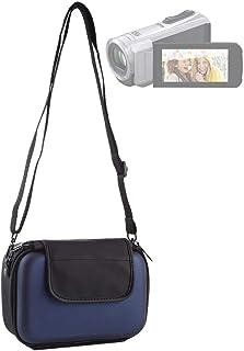 BBGSFDC Funda de Viaje portátil Bolsa de cámara Digital con Correa (Color : Dark Blue)