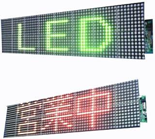 屋内用4文字F5赤緑LED電光掲示板ボード