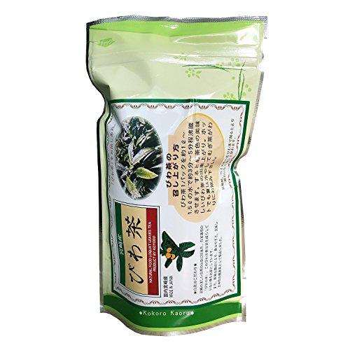 焙煎びわ茶 2.5g×30パック 国産 宮崎産 びわの葉 100%使用 すっきり とした飲み口 無農薬 自家栽培 ノンカフェイン ギフト プレゼント 贈り物 にも