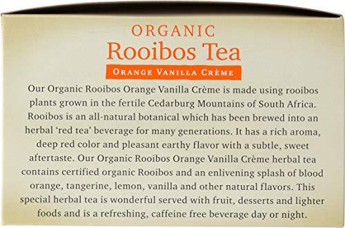 365 Everyday Value, Organic Rooibos Tea with Orange Vanilla Crème (40 Tea Bags), 2.8 oz