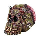Statue Figurine Statuary Decor - Grotesque Monster Frankenstein Skull Gothic Fantasy Collectible Figurine
