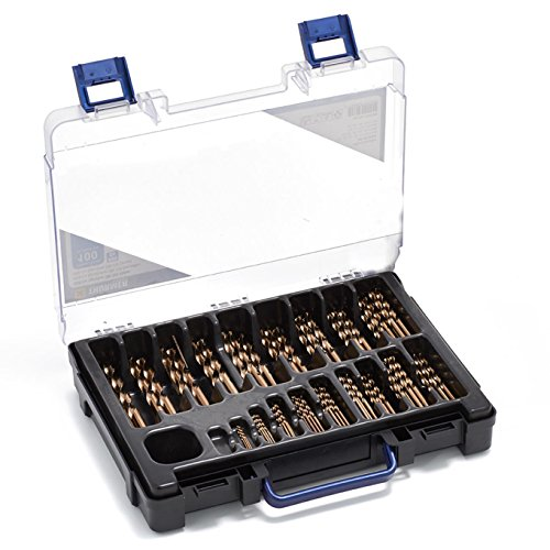 Thürmer Tools 1-10 MM HSS-CO KOBALTBOHRER MIT x0,5 MM . ROSTFREIER STAHL 100 Stück.