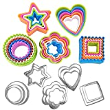 Basic Cookie Cutters Set Cake Cutter Cookie Cutter Set Round Biscuit...