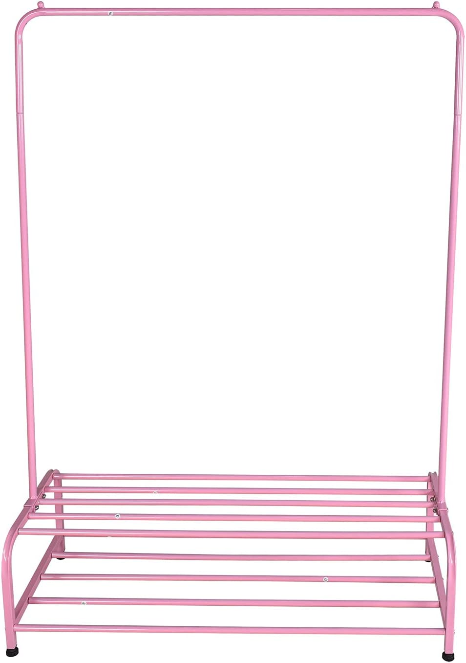 Trlec gt4-ly Clothing 5 Sales of SALE items from new works ☆ popular Garment Rack Metal Han with Cloth Shelves