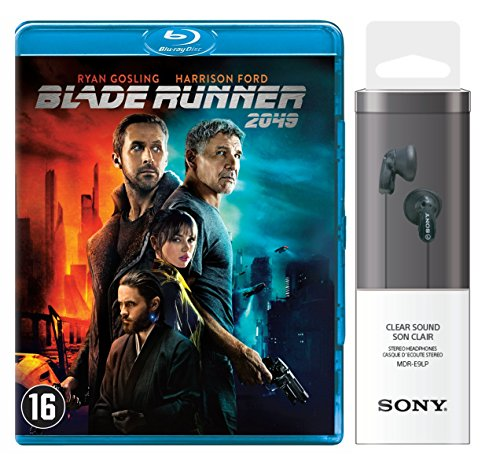 Blade Runner 2049 + Sony Headphone MDR-E9LP Black - In-Ohr-Kopfhörer schwarz (Limited Special Edition) [Blu-ray]