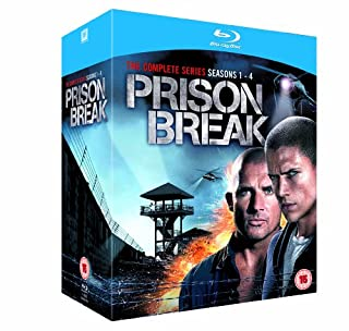 Prison Break - Complete Season 1-4 [Blu-ray] [Region A & B] (B005AIO0PS) | Amazon price tracker / tracking, Amazon price history charts, Amazon price watches, Amazon price drop alerts