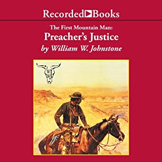 Preacher's Justice audiobook cover art