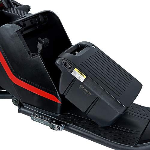 ECOXTREM IKARA 3.0 - Moto eléctrica matriculable de Color Negro, Motor 1500W, batería de Litio 60V - 20Ah. Incluye Pantalla LCD y Doble Asiento Adicional.