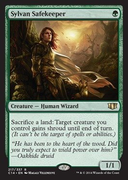 Magic: the Gathering - Sylvan Safekeeper - Commander 2014 by Magic: the Gathering