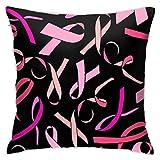 Hangdachang - Funda de almohada personalizada, diseño de cinta decorativa para coche, sofá, hogar, 45 x 45 cm