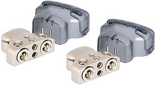 2 ROCKFORD FOSGATE RFDB1 0/1/4-Gauge 8 Ga Positive/Negative Car Battery Terminal