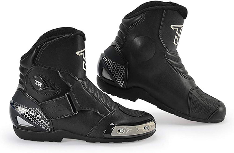 ZWYY Road Road Road Biking skor, Unisex Vuxna Racing bil Cycing skor Andningsbar Anti -Slip Vattensäker skor Mountain gående skor, svart,43  bästa valet