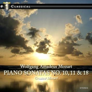 Piano Sonatas No. 10, 11 & 18