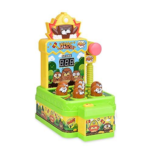 Juego Interactivo Whack-A-Mole, niños golpeando el conteo de puntuación, Trampa para Ratones,...