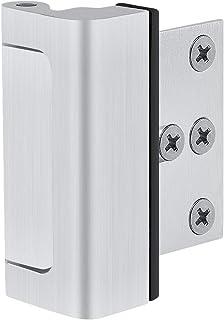 """Home Security Door Lock with 6 Screws, Childproof Door Reinforcement Lock with 3"""" Stop Withstand 800 lbs for Inward Swinging Door,Upgrade Night Lock to Defend Your Home"""