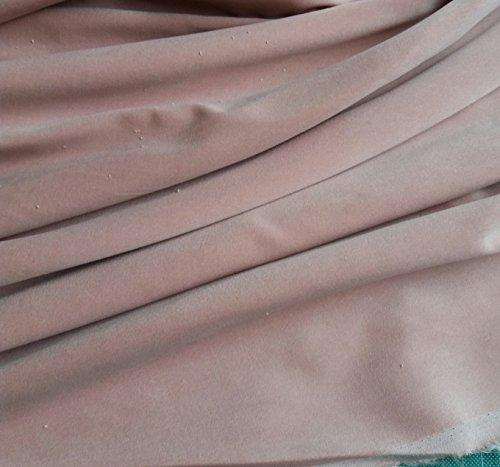 Pre Cut, por separado se envía, 1 m pieza de color rosa algodón de colores costura de terciopelo tela – 240 gsm – 112 cms de ancho: por metro
